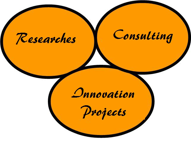 [Picture of joint research, consulting and development project;]