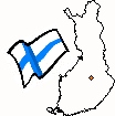 [Map and flag of Finland]